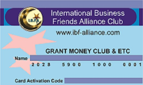 get or raise up to $5 million Business Grant, private club, ibf-alliance.com,